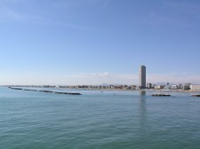 Pohled na Casenatico od moře
