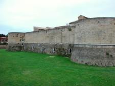 Hrad v městě Pesaro