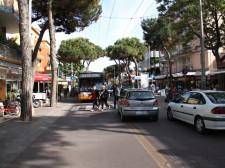 Prázdninový ruch města Rimini